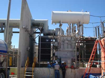 High Voltage Substations Testing