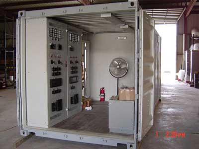 Modular Control House