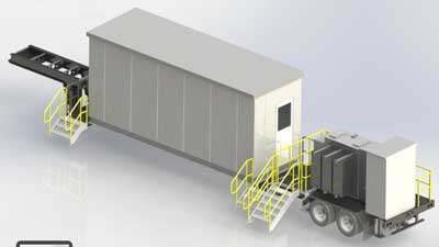 Trailer-Mounted Power Control Buildings